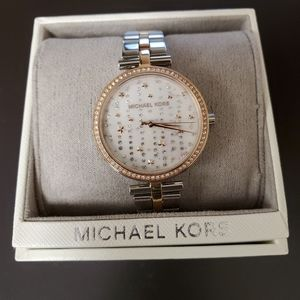 Michael Kors MK4452 Maci Two tone Watch